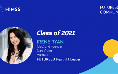 CareVision CEO Irene Ryan Recognised As Global Future 50 Health Leader